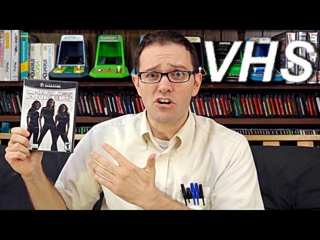 Angry Video Game Nerd 153 - Ангелы Чарли на GameCube - VHSник