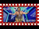 ¡Agárrense! Vienen curvas con Wendy Superstar | Audiciones 1 | Got Talent España 2018