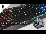 Sound Test Cherry MX Speed Switches Cougar Attack X3 2018 VS Corsair K95 and K70
