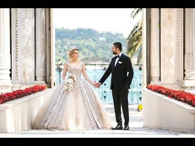 Çırağan Sarayında Nur Onur çifti ile Çekilen Düğün Klibi