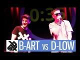 B-ART vs D-LOW Shootout Beatbox Battle 2017 SMALL FINAL