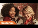 🎅🏿 Tiny Christmas 🎁 Movie Bloopers w/ Riele Downs Lizzy Greene Nick