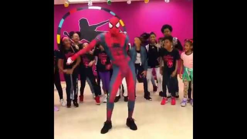 Ghetto Spiderman Dance Compilations