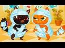 КОТЕНОК БУБУ 78 / Котик встретил злого кота Черныша - мультик игра для детей ПУРУМЧАТА