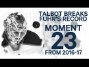 No. 23/100 Talbot breaks Fuhr's record