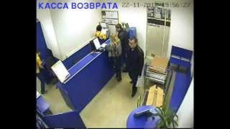 КАССА ВОЗВРАТА 22 11 2012 19 56 19 58(Касторама Пермь)
