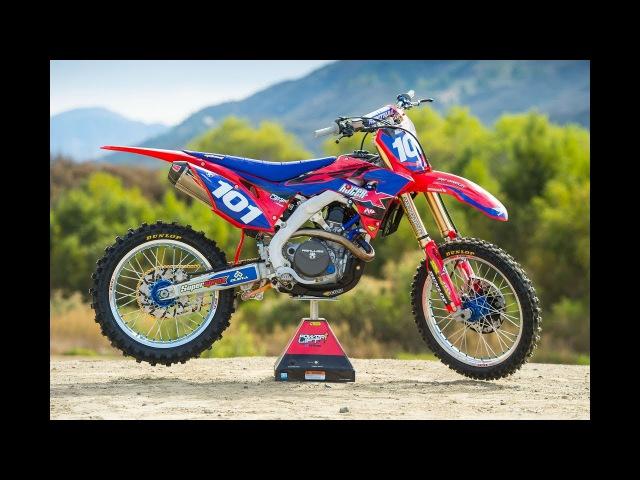 Racer X Films: Garage Build 2018 Honda CRF450R