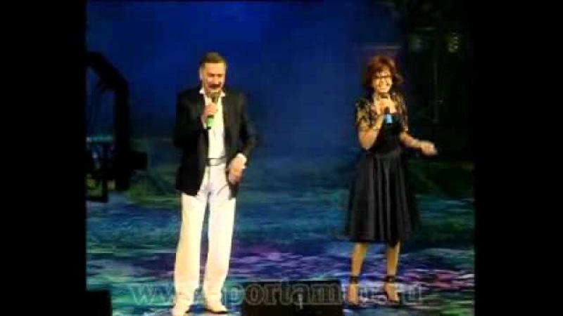 Я. Поплавская и А. Тихонович на сцене ОКЦ