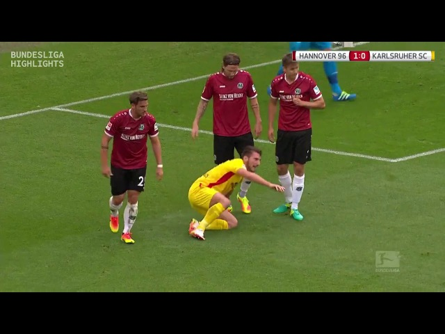 Ганновер 96 vs Карлсруэ 21 09 2016 raport 720p