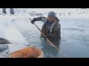 Кыргызы добывают золото на реке в 40 градусные морозы новости