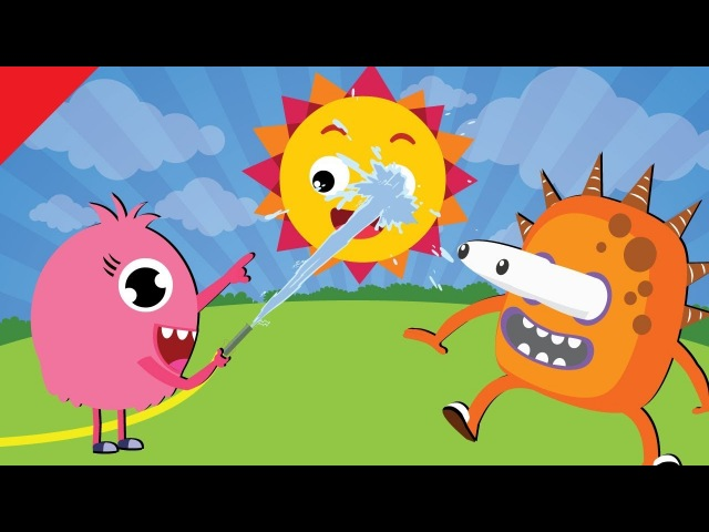 Weather Song for Kids | Sunny, Cloudy, Rainy, Snowy | Kindergarten ESL | Fun Kids English