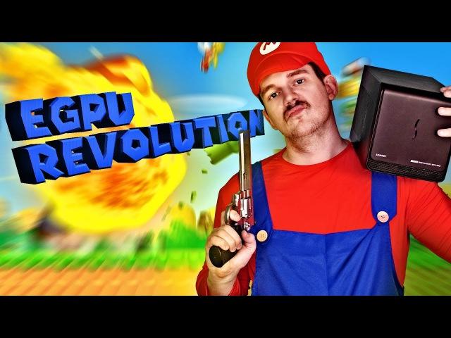 EGPU–Революция здесь: Hackintosh против MacBook с внешней видеокартой! – [Обзор]