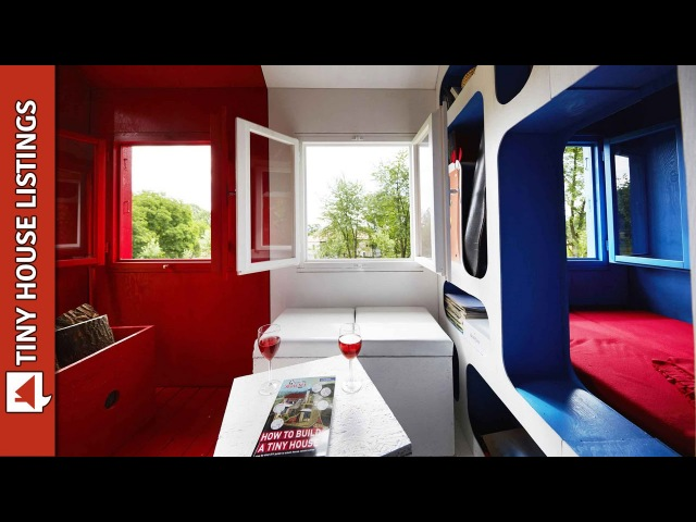 $1,200 3-Space Prefab Tiny House Can Be Assembled In One Day
