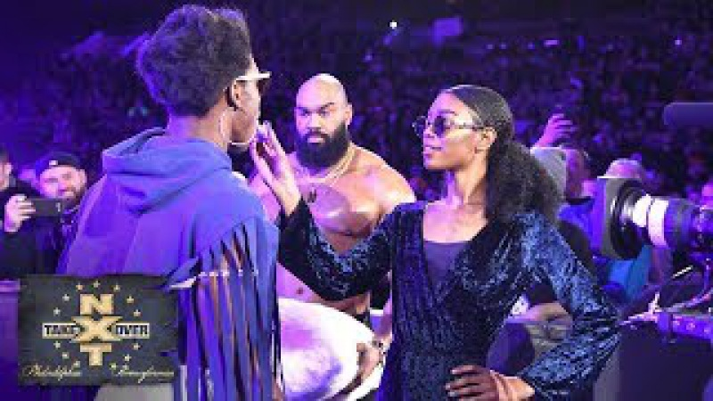 The Velveteen Dream Experience now includes an entourage: NXT TakeOver: Philadelphia