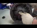 Замена тормозной шетстеренки на колесе детской коляски Ремонт колеса коляски