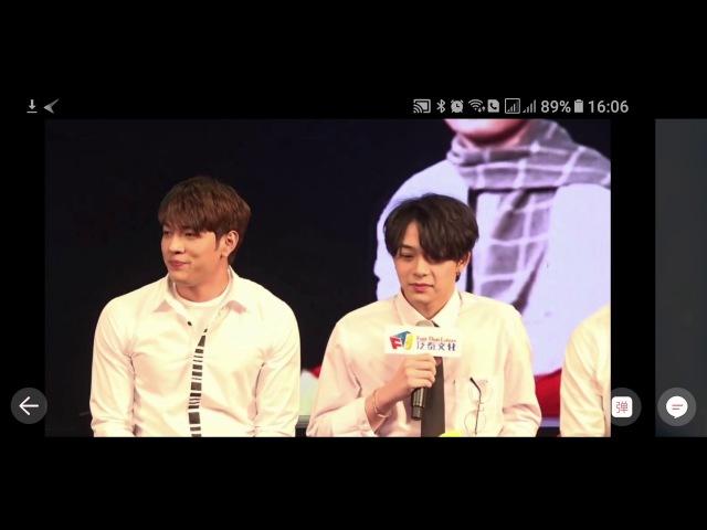 6MoonsAsiaTour Fan Meet in Tianjin China [ Part 1/5]