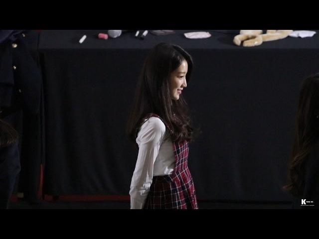 171215 코엑스 팬사인회 구구단 (gugudan) 스노우볼 (snow ball) 하나 직캠 / fancam