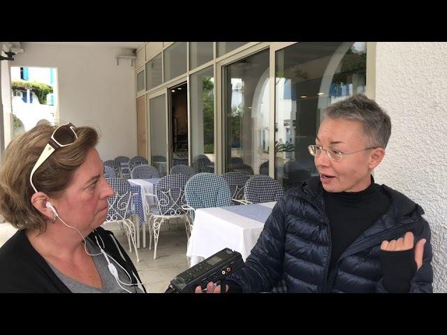 Интервью с Еленой Пятибрат для немецкого радио WDR