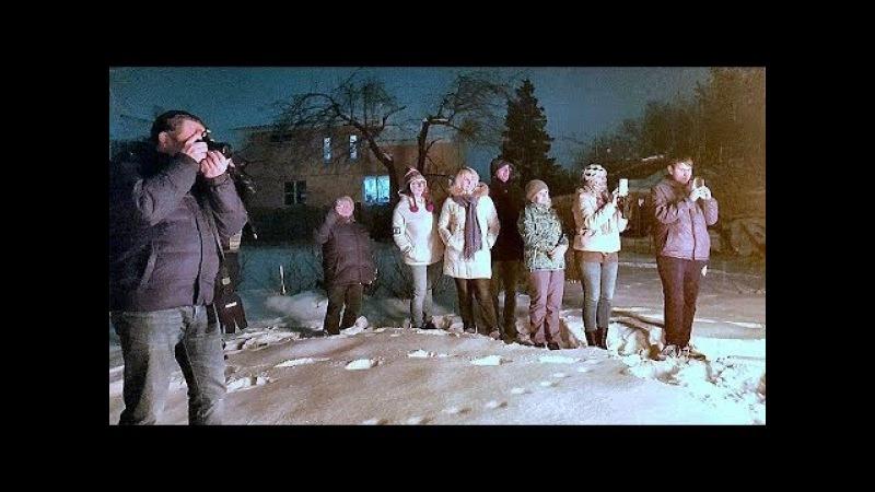 Тульские блогеры сожгли Масленицу.