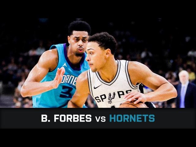 Брин Форбс в матче с Hornets