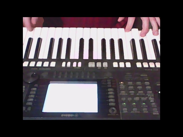 Saliev Gennady melody and Yamaha psr s750