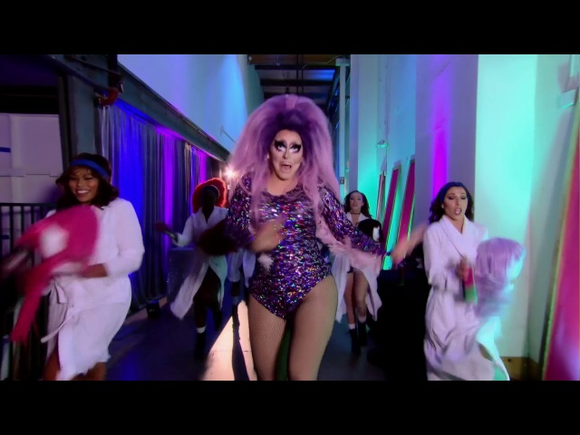 RuPaul - Kitty Girl (Remix) (Feat. The Cast Of RuPaul's Drag Race All Stars, Season 3) (HD)