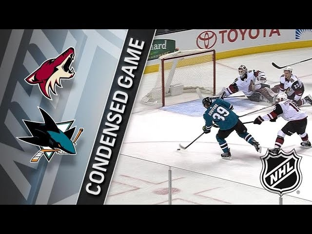 Arizona Coyotes vs San Jose Sharks Jan 13 2018 Game Highlights NHL 2017 18 Обзор матча