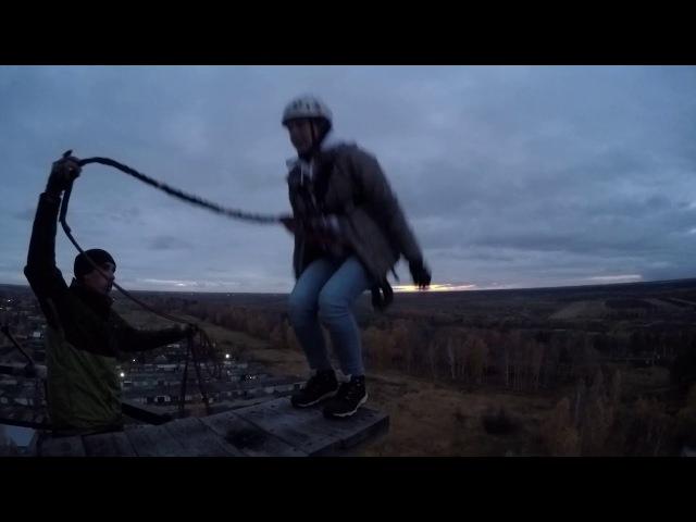 Anti-Panic - Прыжок с трубы Кабаново (45м, 21.10.17) - Химия №2