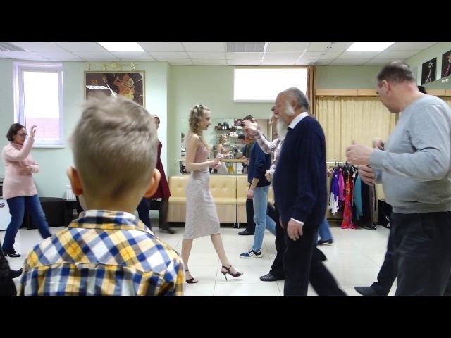 Танго с Алексом Рукавицыным Студия «Abrazo»