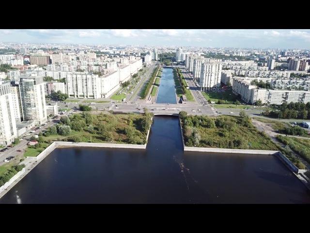 Санкт-Петербург - над рекой Смоленка, Васильевский остров