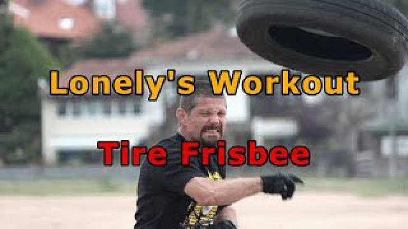 LDs Workout 035 - Tire Frisbee