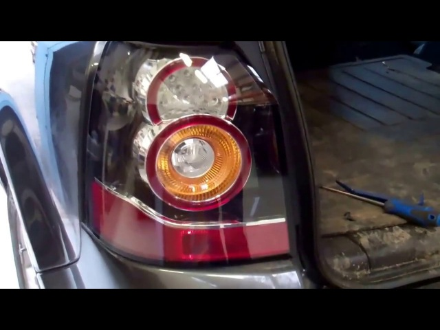 How to upgrade Freelander 2 LR2 to new type LED rear lights