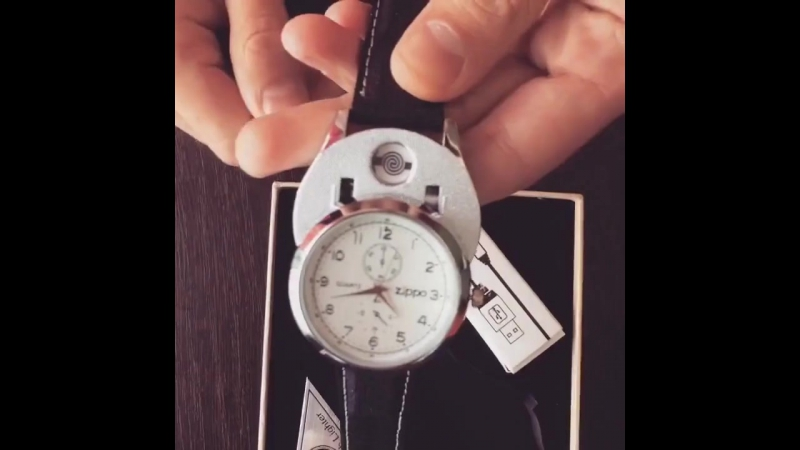 ⌚ Часы-зажигалка «ZIPPO» со скидкой 50%