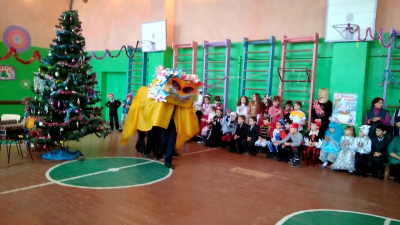 8 класс - танец дракона