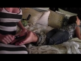Ivy and Starrs sexy feet tied and tickled