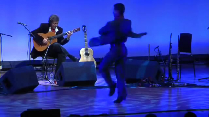 Juan Martins Flamenco Dance Ensemble Live @ The Barbican 2009 - Farruca