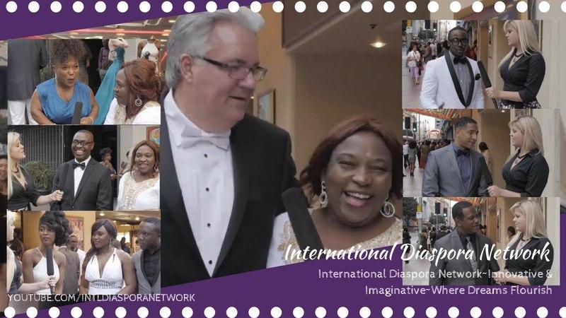 Biracial Couple at the NAFCA African Oscar Special Edition