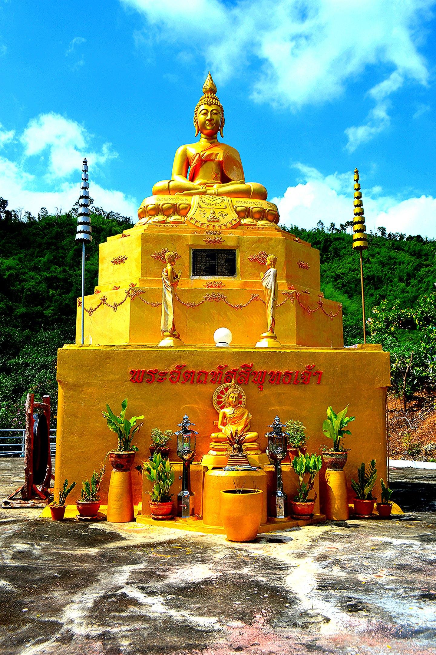 Елена Руденко (Валтея). Таиланд. Буддийский храм в горах. 6kz0JTb8esU