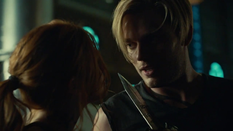 Shadowhunters Exclusive Katherine McNamara Dominic Sherwood On Those Intense Fight Scenes Access Online