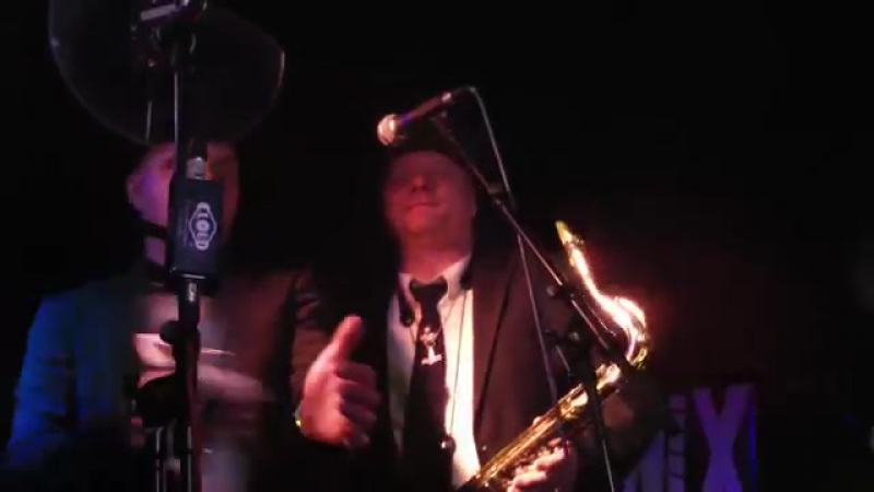 Thorbjorn Risager The Black Tornado - Burning up - NIX Blues Club Enschede 5se