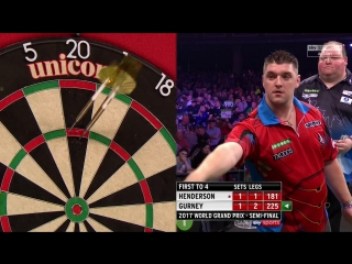 John Henderson vs Daryl Gurney (PDC World Grand Prix 2017 / Semi Final)