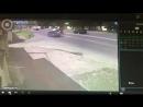 Последние секунды перед аварией с участием мотоцикла в Одинцово