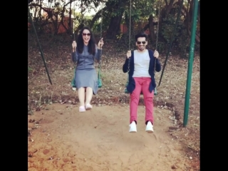 Sanaya Irani and Mohit Sehgal