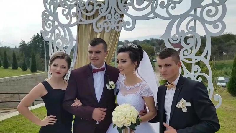ОСІНЬ ЗОЛОТА, 👑GOLD WEDDING💞 в золотеньких молодят - Віталій та Лідія 😇 Кохання вам незеного до весілля золотого😉🎉😎
