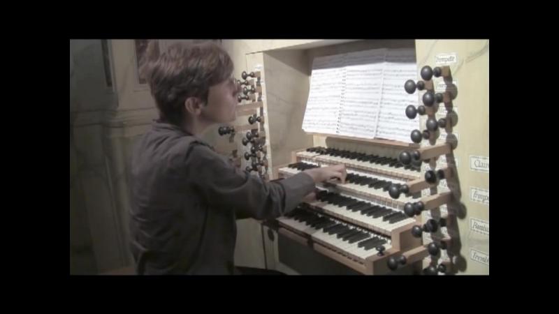 664 J. S. Bach - Chorale prelude Trio super Allein Gott in der Höh sei Ehr, BWV 664 - Aude Schuhmacher