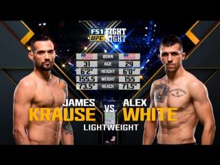 UFC FIGHT NIGHT ST. LOUIS James Krause vs. Alex White