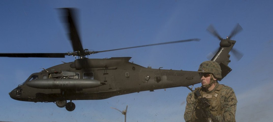 Американский вертолет обстрелял жилой квартал в сирийской провинции Дейр-эз-Зор