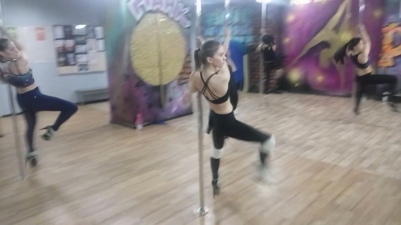 Exotic /Pole PANK Dance studio/ученицы