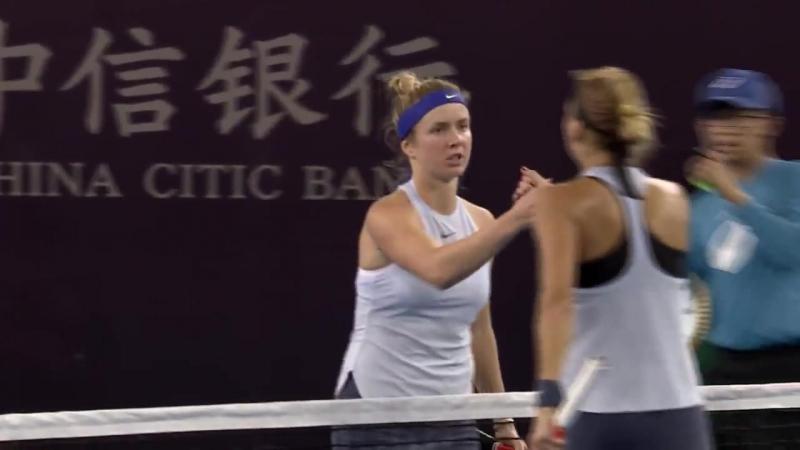Свитолина выбила россиянку на пути в 1/4 финала турнира в Пекине!