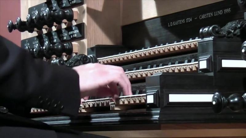 674 J. S. Bach - Chorale prelude Kyrie, Gott heiliger Geist BWV 674, Manualiter - Daniel Bruun